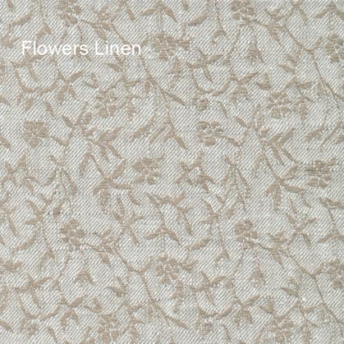 Flowers linen