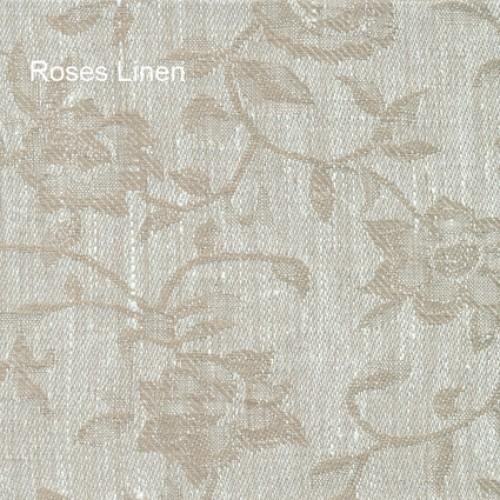 Roses linen